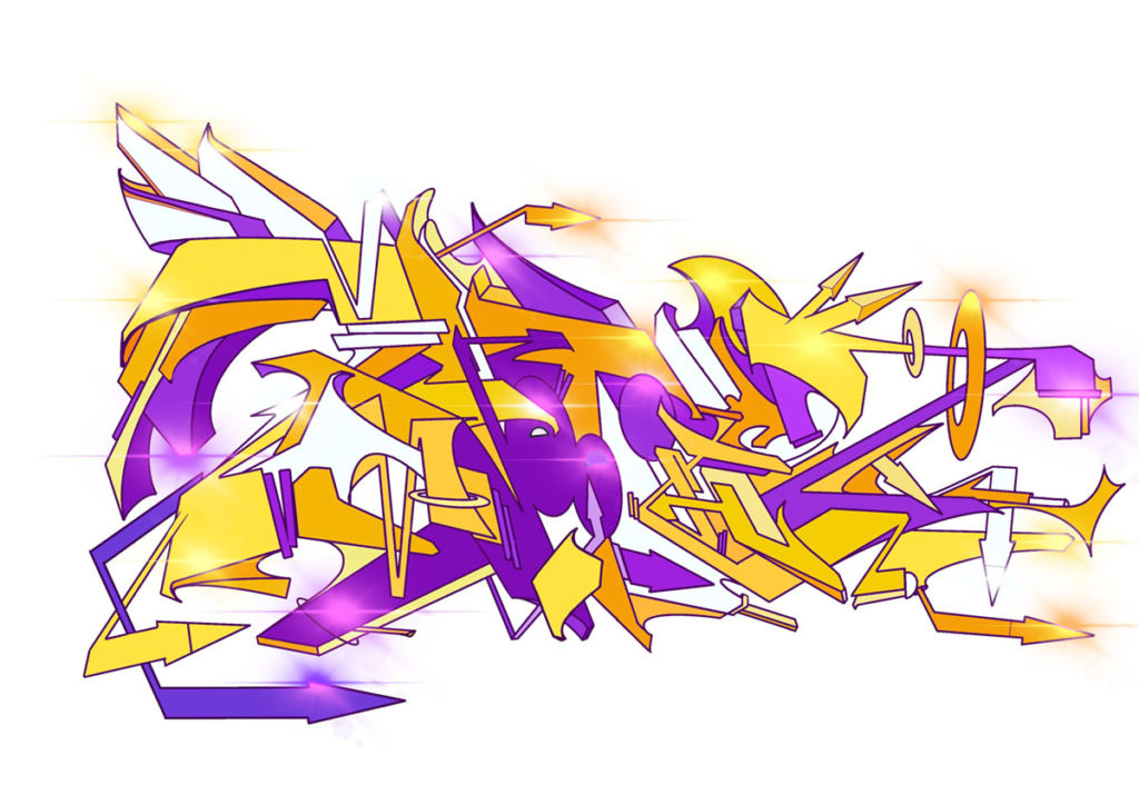 A Graffiti made for Zmoothiez by Soklak